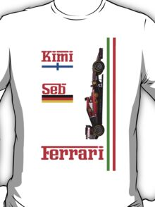 Ferrari 2015: Raikkonen, Vettel T-Shirt