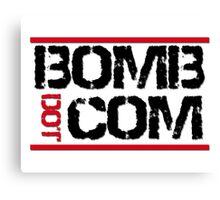 Bomb Dot Com Canvas Print