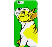 Boston Bull Terrier Puppy Yellow iPhone Case/Skin
