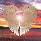 Angel Heart at sunset by Eric Kempson