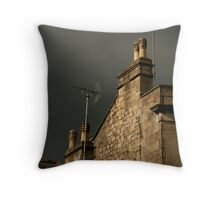 storm and shelter Throw Pillow
