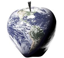 Big Apple, Earth, NYC, Healthy Planet, Nutrition, Fitness, IPhone Home Photographic Print