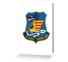 Emblem of South Vietnam Air Force  Greeting Card