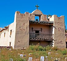 Zuni Pueblo Church built in the early 1600's by David DeWitt