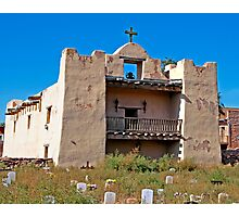 Zuni Pueblo Church built in the early 1600's Photographic Print