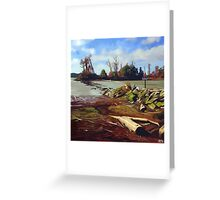 Shady Island - Steveston BC Greeting Card