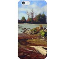 Shady Island - Steveston BC iPhone Case/Skin