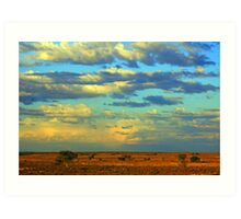 Outback Sky!    Art Print