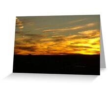 Desert Sun Greeting Card