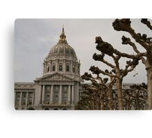 City Hall San Francisco Canvas Print