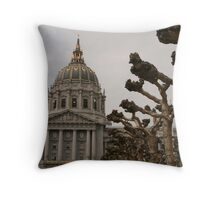 City Hall San Francisco Throw Pillow