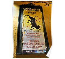 Toros Sevilla  Poster