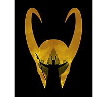 Evil God of Mischief Photographic Print