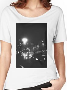 Brussels at Night  Women's Relaxed Fit T-Shirt