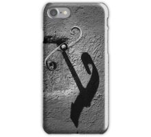 Hook on wall iPhone Case/Skin