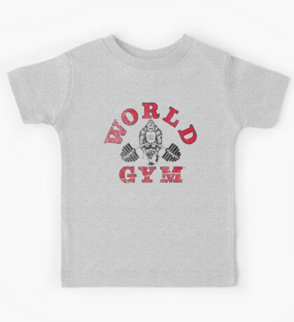 World Gym Kids Tee
