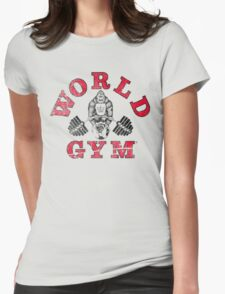 World Gym Womens Fitted T-Shirt