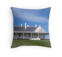 Cape Otway Lightkeepers Station Throw Pillow
