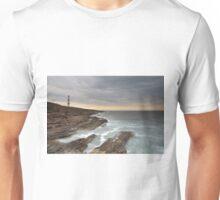 Tarbat Ness Lighthouse as Sunset Unisex T-Shirt