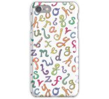 Alphabetastic! iPhone Case/Skin