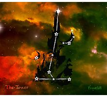ES Birthsigns: The Tower Photographic Print