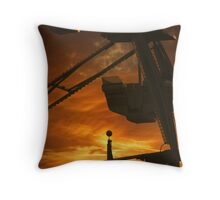 Waiting for a Rider ..... Throw Pillow