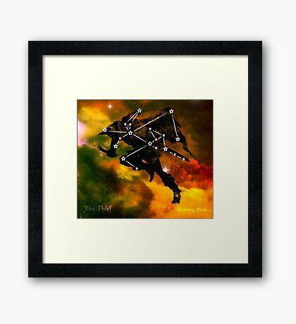 ES Birthsigns: The Thief Framed Print