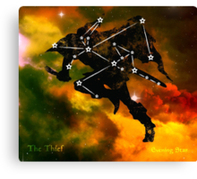 ES Birthsigns: The Thief Canvas Print