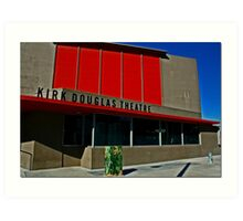 Kirk Douglas Theater Art Print