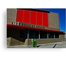 Kirk Douglas Theater Canvas Print