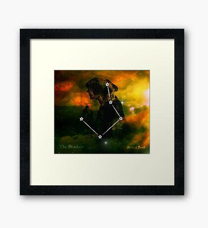 ES Birthsigns: The Shadow Framed Print