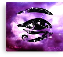 ES Birthsigns: The Ritual Canvas Print