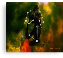 ES Birthsigns: The Lover Canvas Print