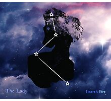 ES Birthsigns: The Lady Photographic Print