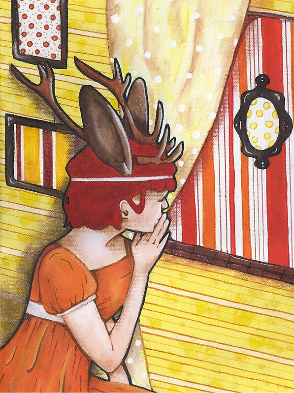 Jackalope Trapped by Endofmarch