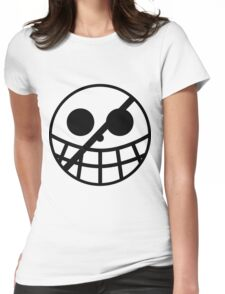 Donquixote Pirates Jolly Roger Womens Fitted T-Shirt