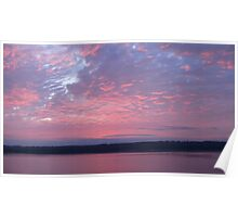 Campbell River Sunrise Poster