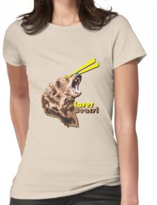 Laser Bears Womens Fitted T-Shirt
