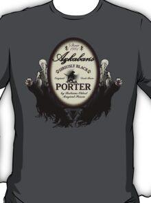 Azkaban's Siriusly Black Porter T-Shirt