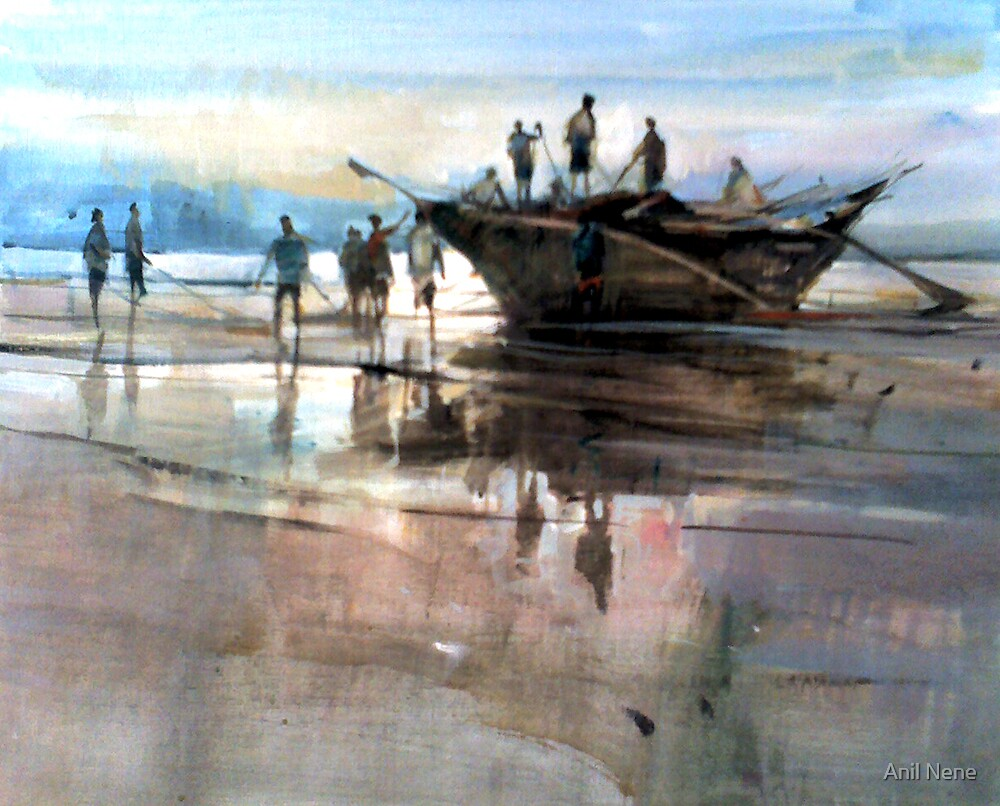 Standstill by Anil Nene