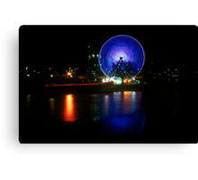 Melbourne Wheel Canvas Print