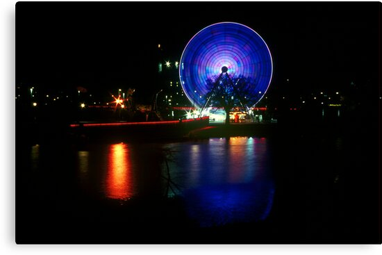 Melbourne Wheel by Nick Filshie