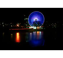 Melbourne Wheel Photographic Print