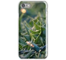 Pointed Leaves iPhone Case/Skin