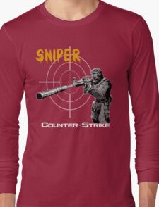 counter-strike sniper Long Sleeve T-Shirt