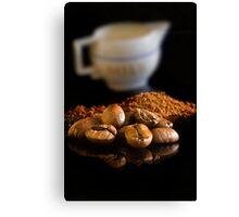 Life of Latte Canvas Print