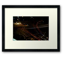 Cross Road Framed Print