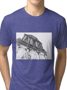 Sassari: facade of the cathedral Tri-blend T-Shirt