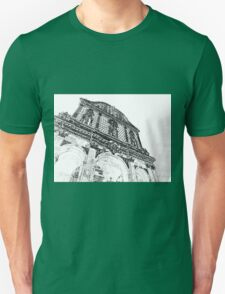 Sassari: facade of the cathedral Unisex T-Shirt