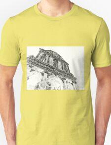 Sassari: facade of the cathedral T-Shirt